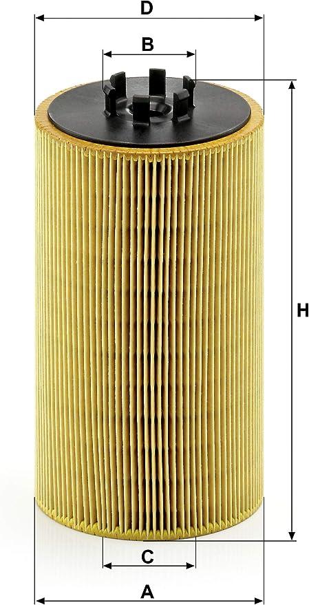 Original Mann Filter Ölfilter Hu 13 125 X Ölfilter Satz Mit Dichtung Dichtungssatz Für Pkw Und Nutzfahrzeuge Auto