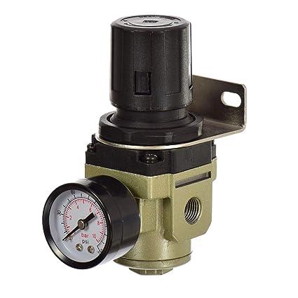 Unidad de mantenimiento de aire comprimido Reductor de presión Regulador para compresor 1/4 AR