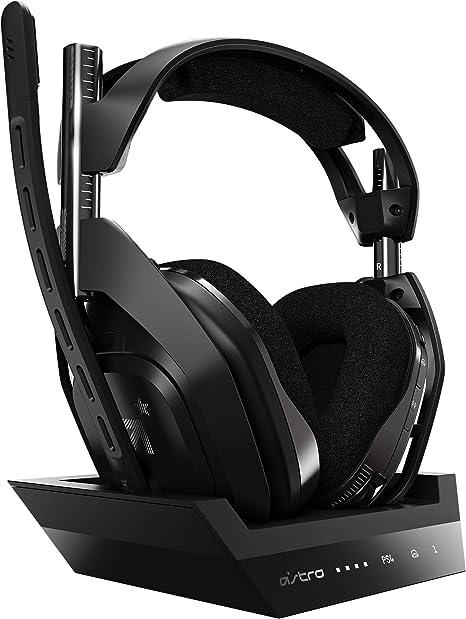Astro ゲーミングヘッドセット A50 WIRELESS + BASE STATION ワイヤレス A50WL-002 ブラック ヘッドセット 無線 PS4/PC/Mac...