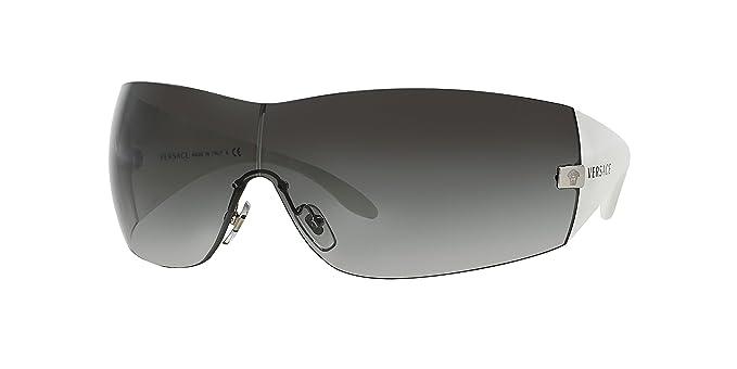 017e3abc23e84 Versace 2054 10008G GRAYGRADIENT SHINYWHITE Designer Sunglasses