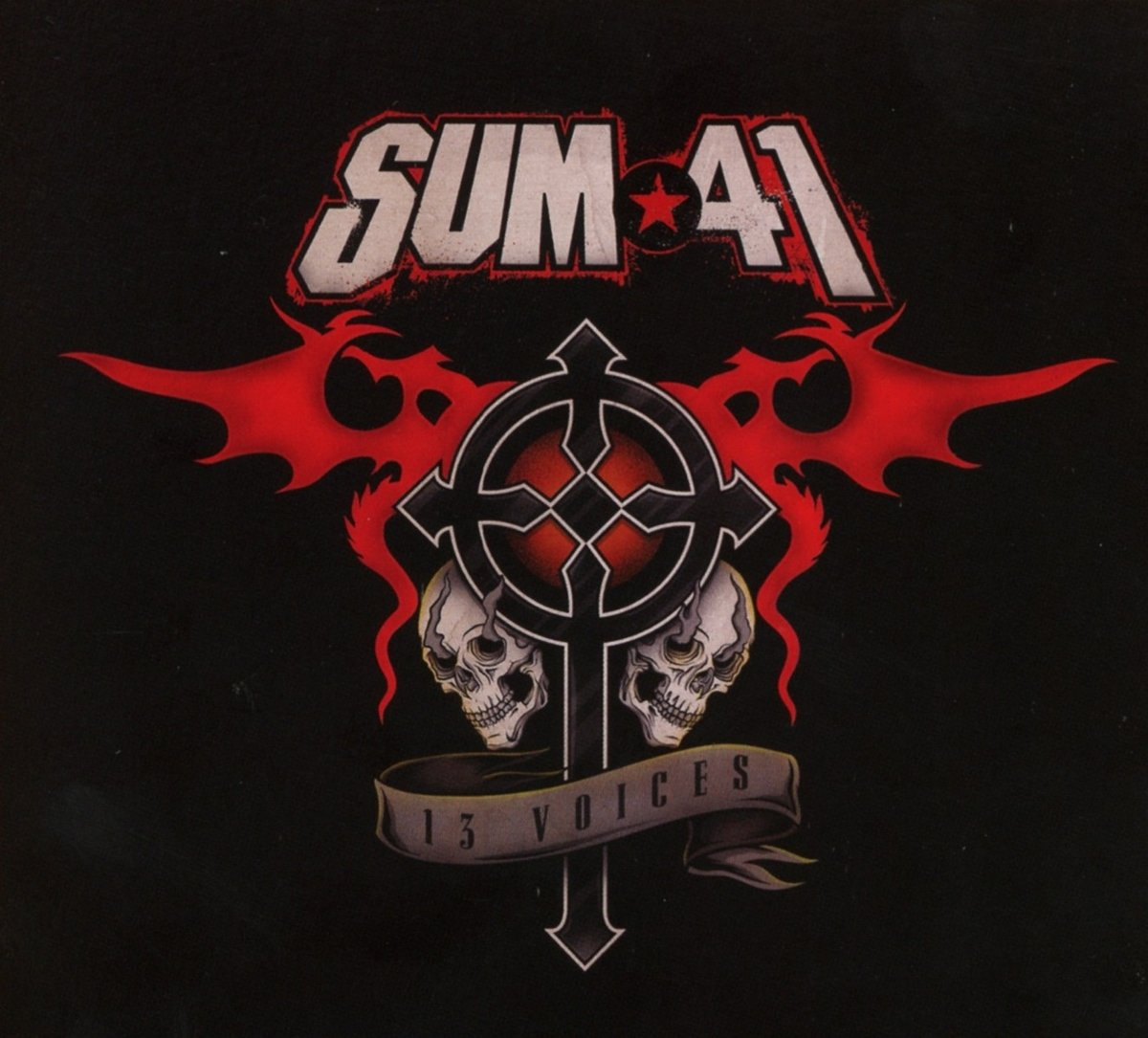 CD : Sum 41 - 13 Voices (Digital Download Card)