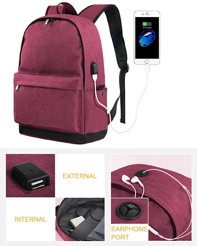 5e75dd4dec Amazon.com  Laptop Backpack for Girls