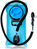 Hydration Bladder. Water Bladder Camden Gear 2L 2.5L 3L Liter Bag Pack - With Insulated Mouth Tube Valve - Best for Camping Hiking Climbing and Running - Sports Backpack Reservoir System