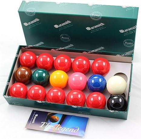 Aramith Premier exterior de 47,6 mm Bolas del billar - 10 Red - 17 pelotas ...: Amazon.es: Deportes y aire libre