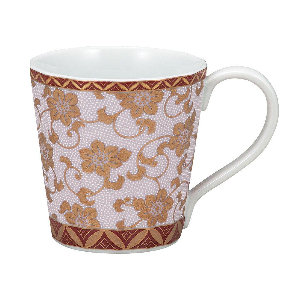 Kutani Yaki(ware) Coffee Mug Gold Clematis