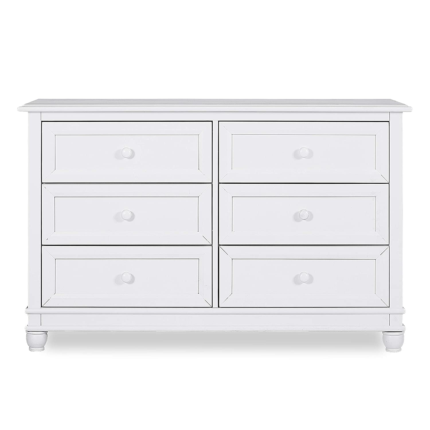 Evolur Hampton Double Dresser, Antique Grey Dream on Me Dropship 802-AM