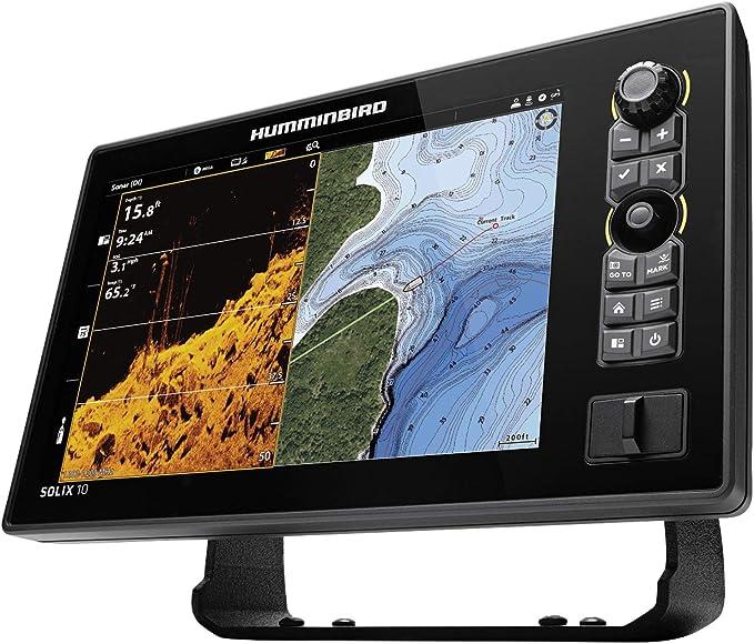 411010-1 Humminbird SOLIX™ 10 CHIRP MEGA SI Fishfinder//GPS G2 w//Transducer