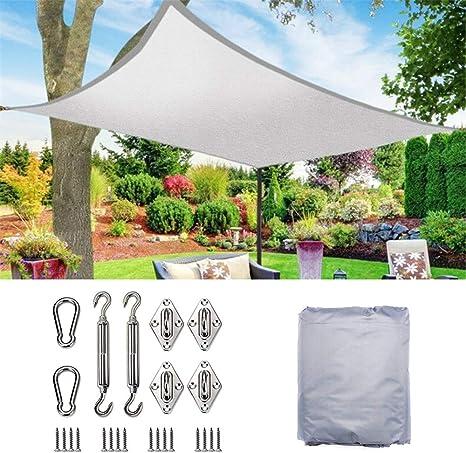 YLYP Jardín A Prueba de Agua Sombrilla Sombrilla Arco Arco Protección UV 70% Impermeable Paño Oxford Velos al Aire Libre Pabellones Netos Patio: Amazon.es: Deportes y aire libre