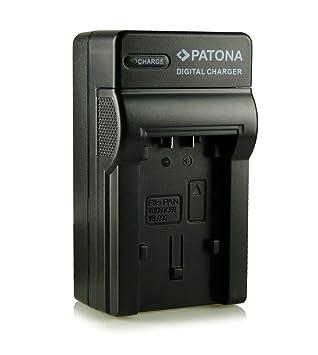 Patona® VWBC10 y VW-BC10E - Cargador 3 en 1 para Panasonic VW-VBT190, VW-VBT380 E High Definition 1 MOS, HC-V10, HC-V100, HC-V110, HC-V210, HC-V500, ...