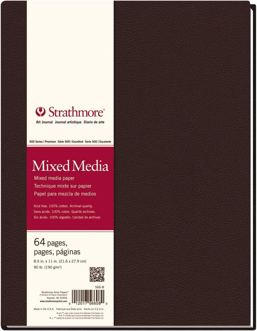Strathmore 566-8 500 Series - 22x28cm (32 hojas)