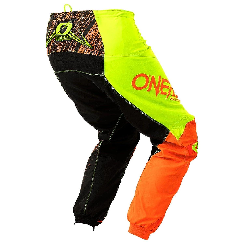 34 50 Gr/ö/ße Oneal Element Burnout MX DH MTB Pant Hose lang schwarz//orange//gelb 2018 Oneal