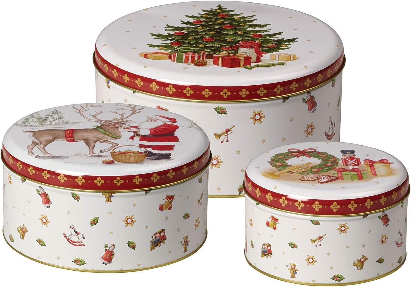 Villeroy & Boch Winter Bakery Set de caja para pastas, 3 piezas ...