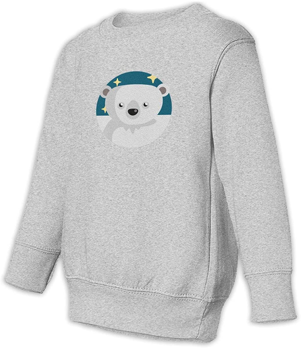 Fleece Pull Over Sweatshirt for Boys Girls Kids Youth Bear-1 Unisex Toddler Hoodies