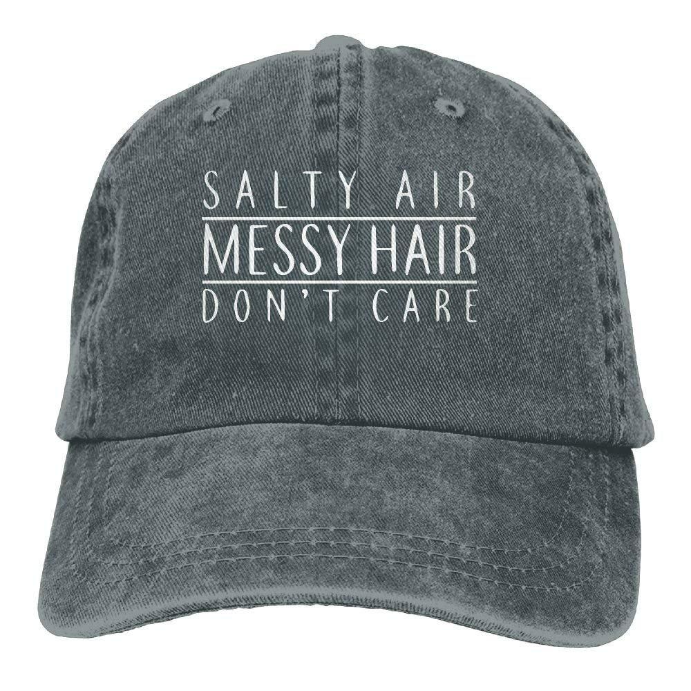 Baseball Cap Salty Air Messy Hair Dont Care-1 Women Snapback Caps Adjustable Dad Hat JTRVW Cowboy Hats