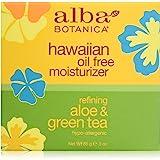 Alba Botanica Crème hydratante aux extraits d'aloès et de thé vert - Sans huile - 90 ml
