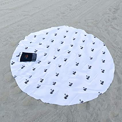 BIGGEST ROUND Microfiber Beach Towel - 74"