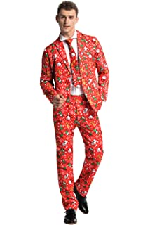 You Look Ugly Today Mens Christmas Party Suit Coat Jacket Funny