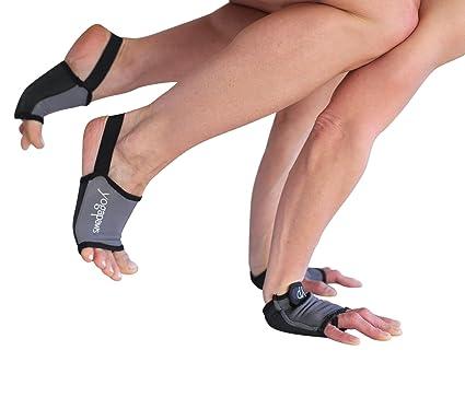 YogaPaws Elite - Acolchada Guantes de Yoga y Yoga Calcetines ...