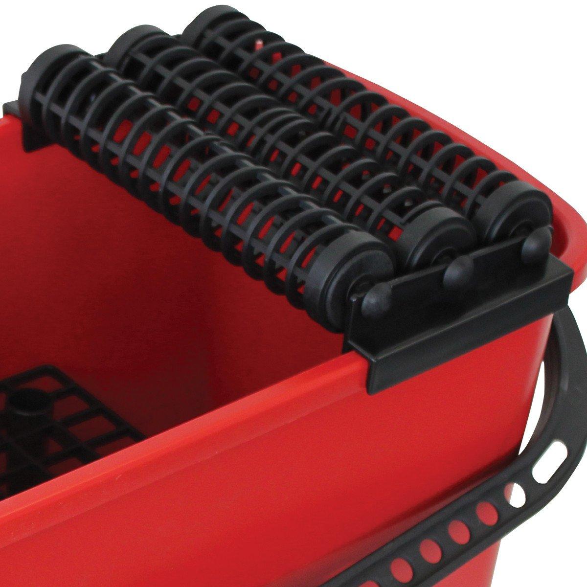Rubi Tools Rubiclean Triple Wash Bucket Includes 1 Interchangeable Sponge With Handle by Rubi Tools (Image #3)