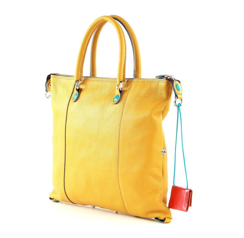 Gabs G3 handväska läder 36 cm Saffran
