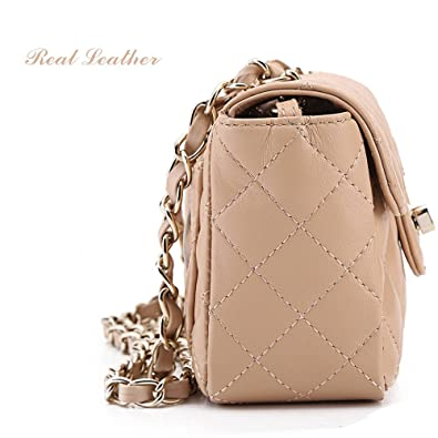Cross body bag for women small chain strap bags cute handbags ... : quilted handbag with chain strap - Adamdwight.com