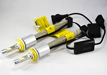 9004 HB1 LED Headlight Bulb Conversion Kit High/&Low Beam 60W 13200LM 6500K 2Pcs