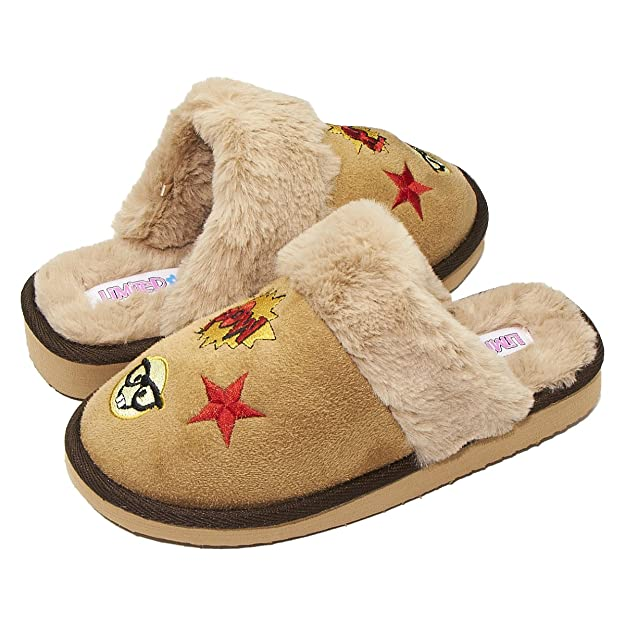 Limited Too Girl IZZY Slip ON Slipper tan 13