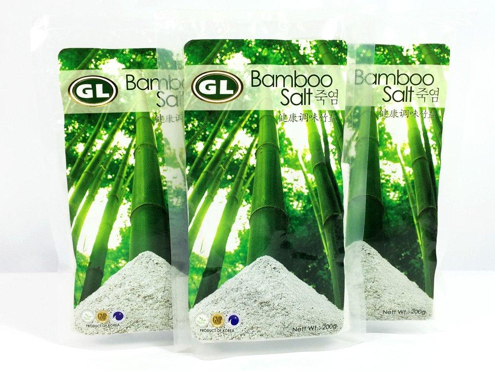 Gl Bamboo Salt 3 Packs Organic Premier Cooking Bamboo Salt Alkaline Antioxidant Rosted 3 Times by Bamboo Salt