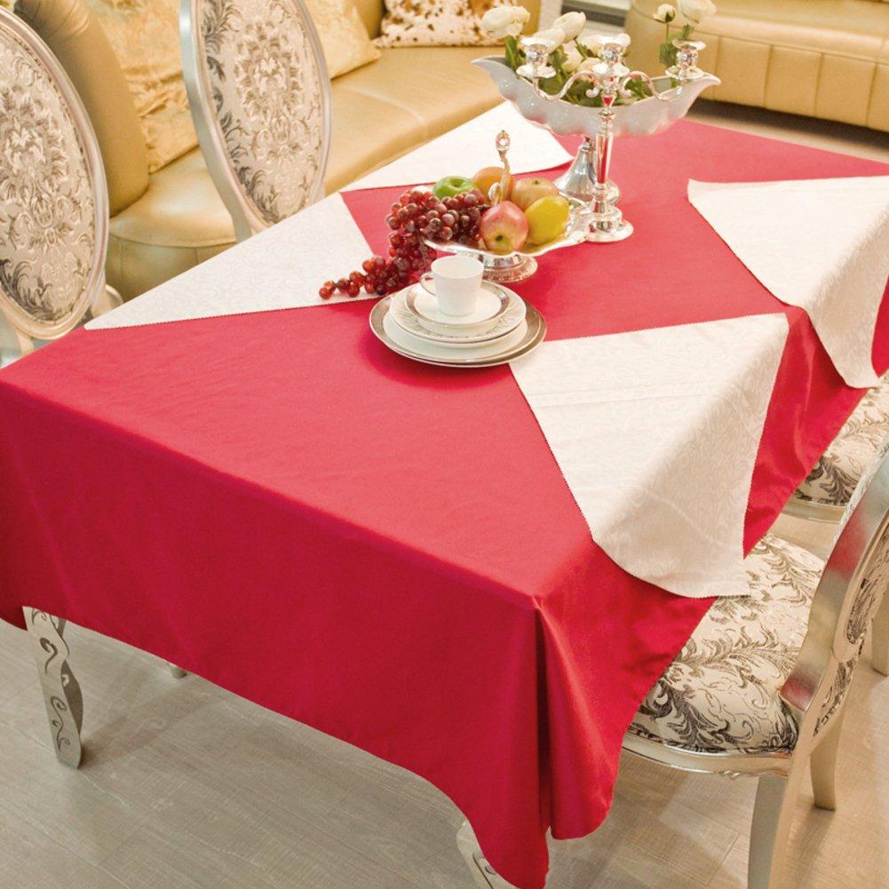 DE Runde tischdecke für Hotels,Cloth-Style europäischen esstisch Square tischtuch-B Durchmesser340cm(134inch) C 120180cm