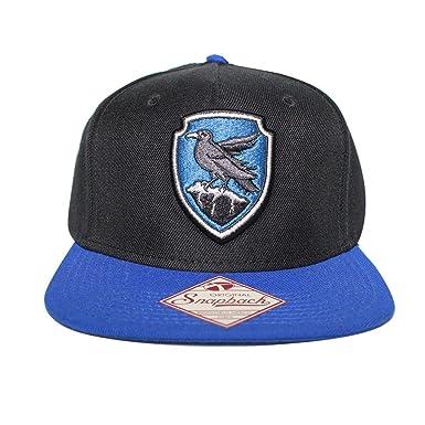 Bioworld Men s Licensed Harry Potter Ravenclaw Crest Snapback Hat O S Black ff7af6a3923