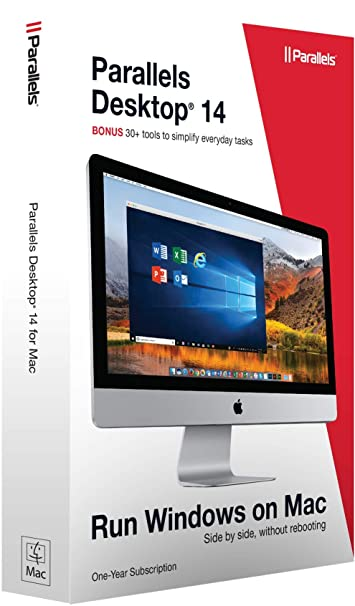 Parallels Software Desktop 14 for Mac [Mac Disc]