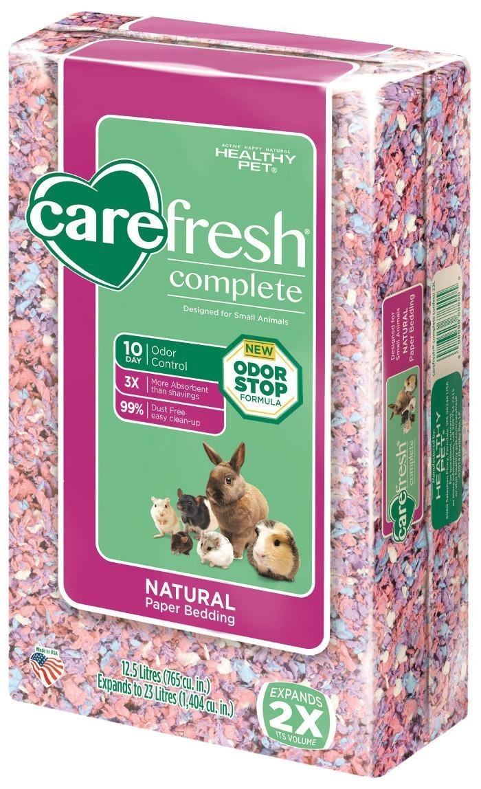 Carefresh Complete Natural Paper Bedding - Confetti - 23 lt