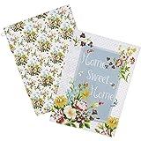 Creative Tops Katie Alice English Garden Shabby Chic Cotton Tea Towels, Set of 2, Multi-Colour