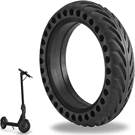 Honeycomb Hole Electric Scooter Good Grip Elastic Solid Tire 8 Inch 200x50