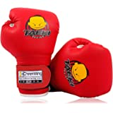 Cheerwing Kids Boxing Gloves 4oz Training Gloves, Red