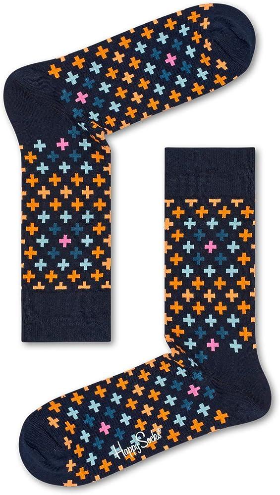 Happy Socks Plus Sock Calcetines, Blau (Blau 6001), Talla única ...