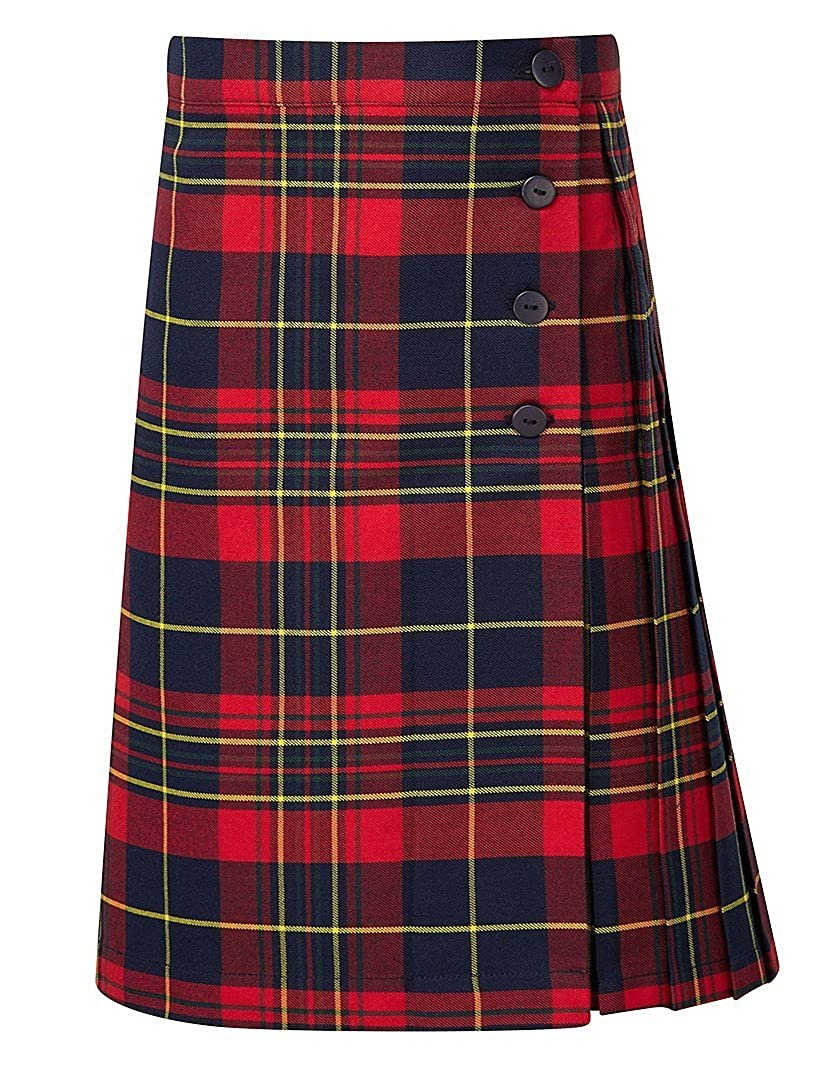 4Direct Uniforms/banner - Falda - Falda Escocesa - para niña ...