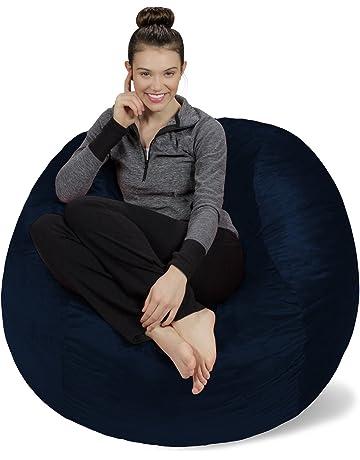 Stupendous Bean Bags Amazon Com Creativecarmelina Interior Chair Design Creativecarmelinacom