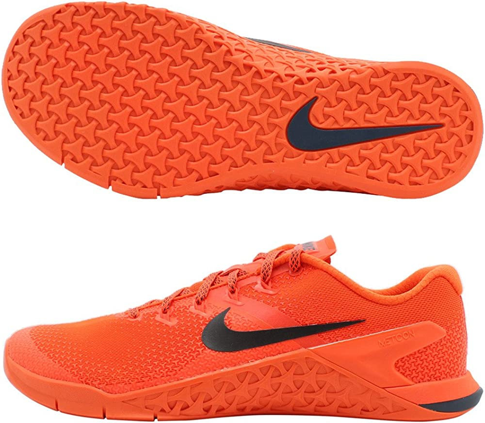 Nike Metcon 4 Cross-Trainer - Zapatillas para hombre, color Naranja, talla 49 EU: Amazon.es: Zapatos y complementos