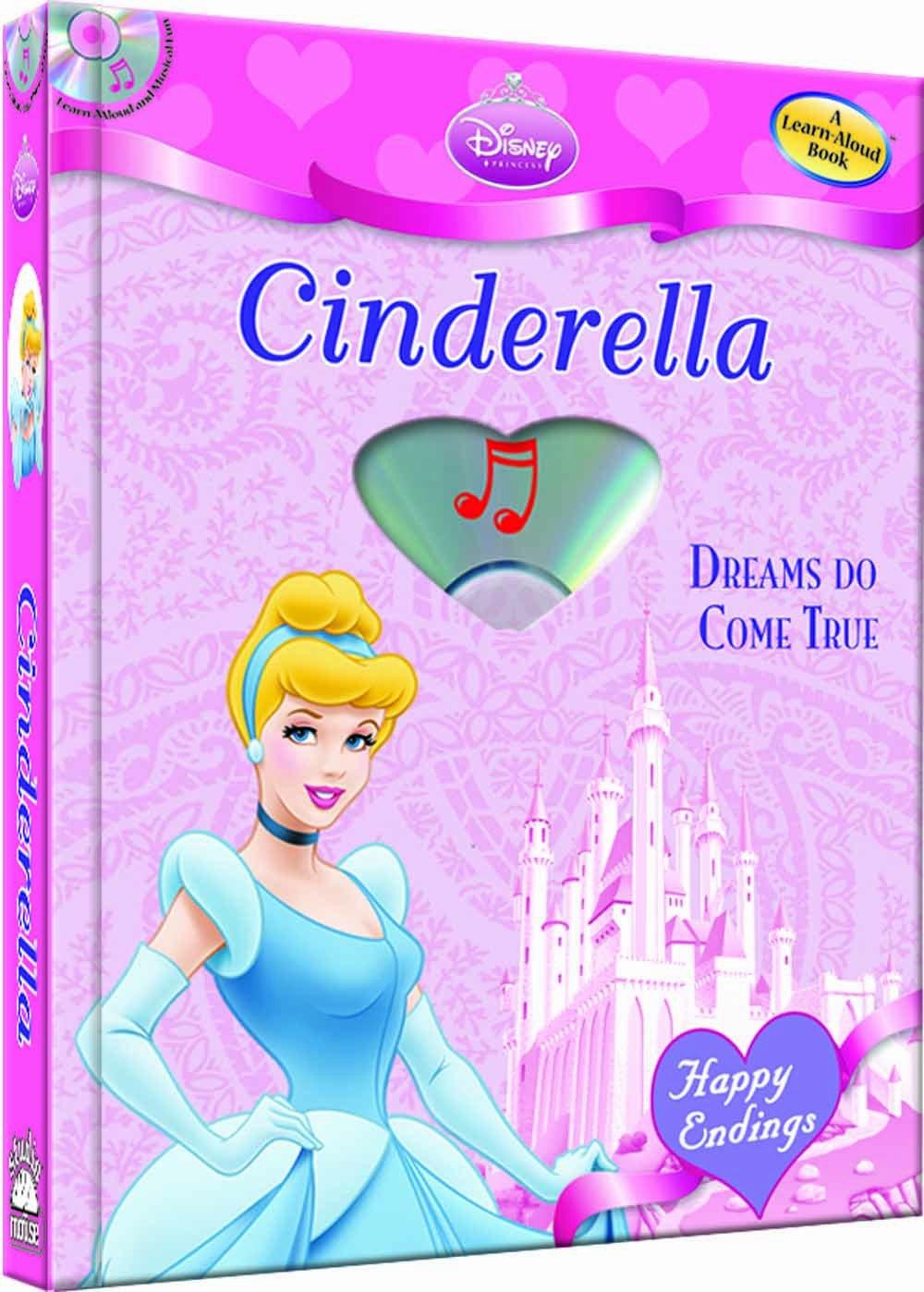 Disney Princess Cinderella: Dreams Do Come True (with audio CD) (Happy Endings) ebook
