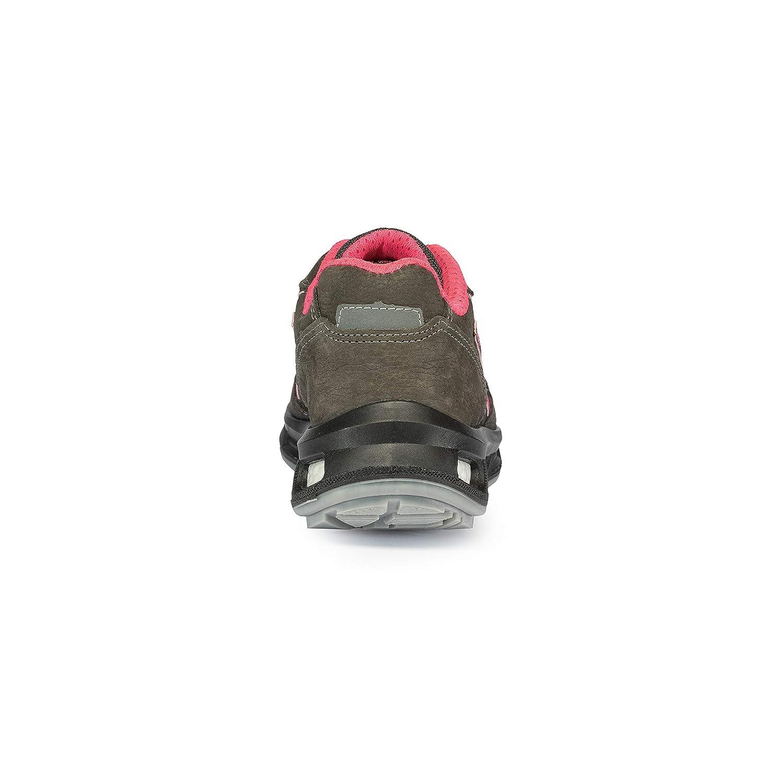 RL20324 U-Power Scarpe di sicurezza grigio//rosa S3/SRC