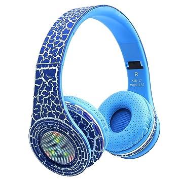 MOREFINE Bluetooth Auriculares Diadema Plegables Cascos ...