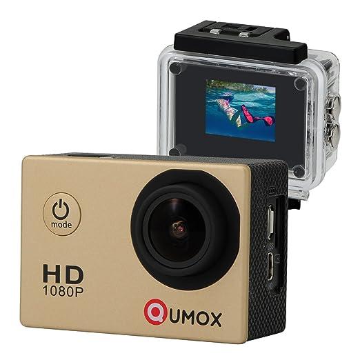 994 opinioni per QUMOX SJ4000 fotocamera Azione Sport Cam Waterproof Full HD 1080p Video Helmet