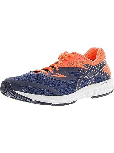 123d05f0cb4c ASICS Women s AMPLICA Running Shoe Indigo Blue Indigo Blue Flash Coral 5 (S