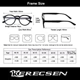 Reading Glasses 5 Pack Fashion Large Round Readers