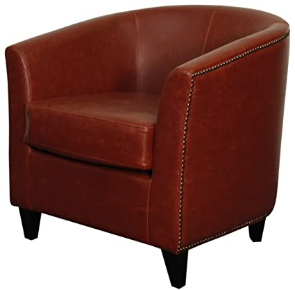 Admirable New Pacific Direct Orson Bonded Leather Tub Chair Black Legs Dailytribune Chair Design For Home Dailytribuneorg