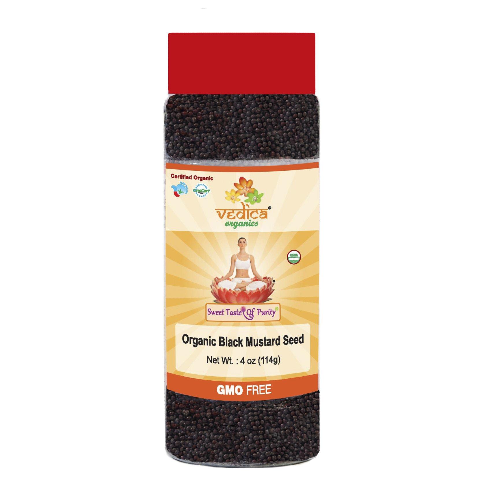 Organic Mustard Black 4 Oz