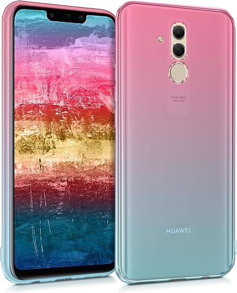 Carcasa de Cuero sint/ético ni/ños y Diente le/ón con Tarjetero kwmobile Funda Compatible con Huawei Mate 20 Lite
