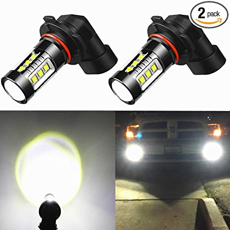 Amazon Com Alla Lighting H10 9145 Led Fog Lights Bulbs Xtremely