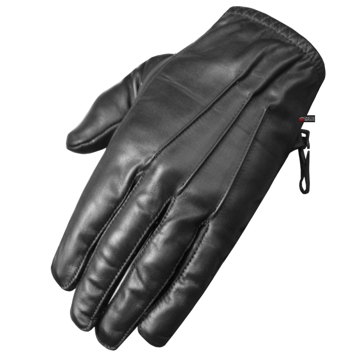 Premium Leather Police Driving Tactical Duty Thin Unlined Search Gloves Black M